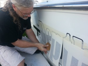 Midnight_Oil_Workshop_Boat Lettering