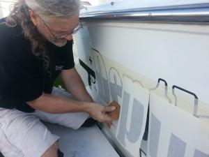 Midnight_Oil_Workshop_Boat Lettering